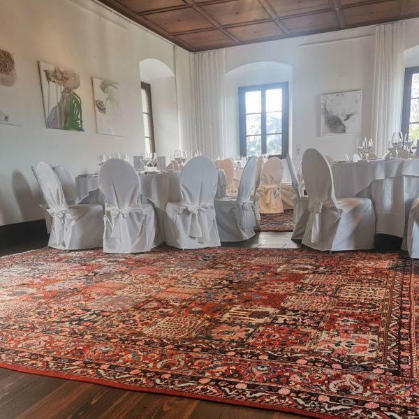 Kleine Herbsthochzeit mit Traumwetter 🌞 heute auf Schloss Amberg! 😍🍂 #schlossamberg #heiratenimschloss #eventlocation ...