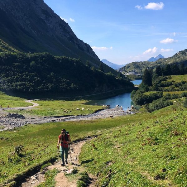 🥾 . . . #bergliebe #draussendaheim #hikingaustria #spullersee Ravensburger Hütte