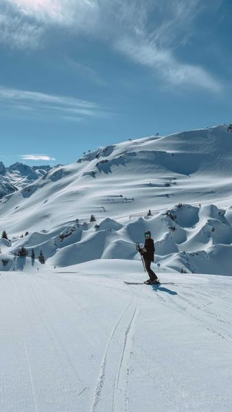 Skifoan ist des leiwandste ⛷ @hohewelt #lechzuers #arlberg #bestofaustria #skifoan #austrianalps #skiholiday #thealps ...