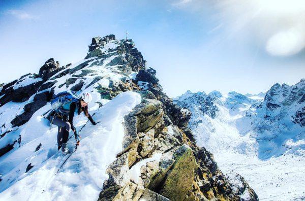 das sieb der notwendigkeit #silvretta #silvrettamontafon #meinmontafon #viaferrata #klettersteig #kleinlitzner #meintraumtag #grazie #climbingbuddy ...