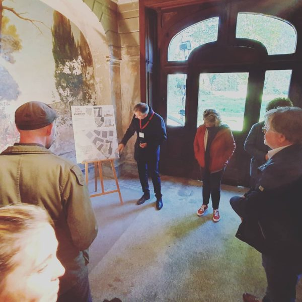 Großartig besuchte Führungen in der Villa Rosenthal: Das neue #RathausQuartier wird präsentiert! Alle ...
