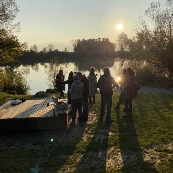 Der Artist Talk-Walk letzten Samstag war wunderschön! In feiner Herbstsonne und mit wunderbarem ...