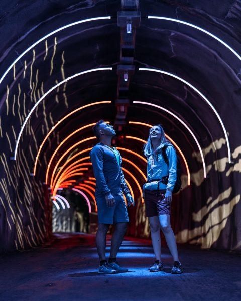 Konntest Du den Kunstraum2032silvretta schon bestaunen? 🎆 Mittels einer Licht- und Soundinstallation werden ...