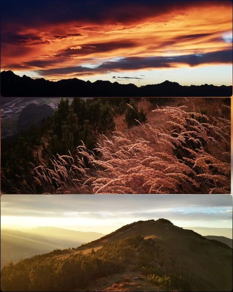 Traumhaft schön 😍 . . . #unserealpen #bergliebe #bergwelten #heimat #sundowner #sonnenuntergang #alpenvereinvorarlberg ...
